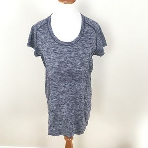 Lululemon Swiftly Tech Short Sleeve Top Blue
